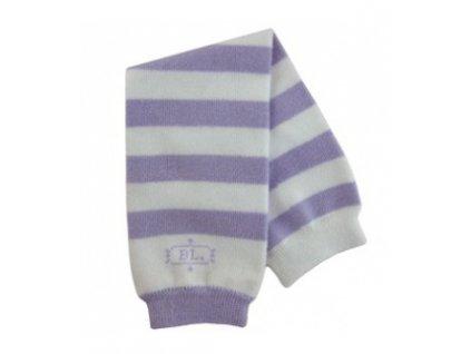 Babylegs Návleky na nohy - purple stripes