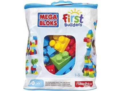 Mega Bloks First Builders BIG BUILDING BAG BOYS 60ks