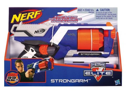 Hasbro Nerf Elite pištoľ s bubnovým zásobníkom