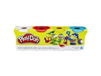 PlayDoh Plastelína 4 tuby