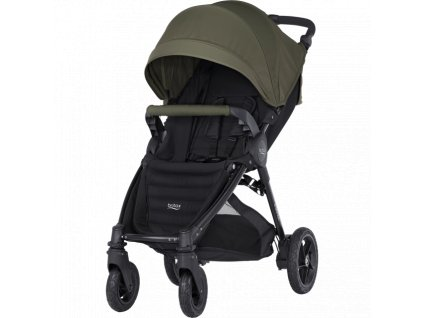 BRITAX B-MOTION 4 PLUS + FAREBNÝ SET olive green