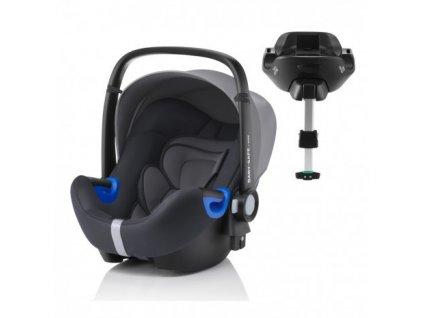 RÖMER Autosedačka BABY-SAFE i-SIZE Bundle Flex - Storm Grey