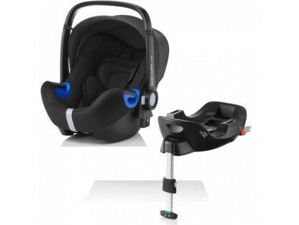 RÖMER Autosedačka BABY-SAFE i-SIZE Bundle Flex - Cosmos Black