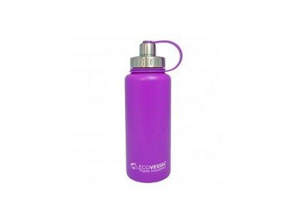 Eco Vessel Termofľaša so závitom 950 ml - fialová