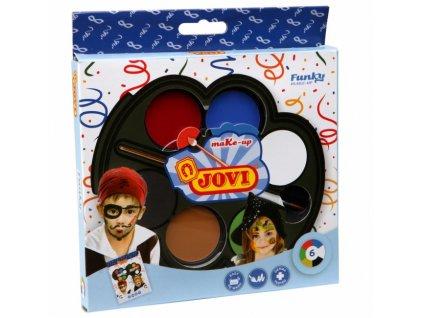 JOVI farby na tvár karneval FUNKY