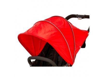Valco baby náhradná strieška na dvojičkovský kočík 1ks - červená