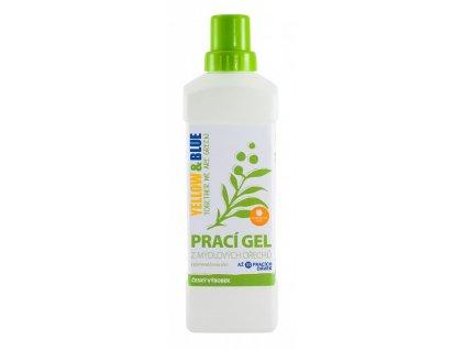 Tierra Verde Prací gel z mydlových orechov s pomarančovou silicou - 1l
