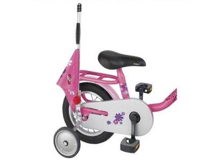 PUKY Bezpečnostná vlajka na kolobežky a bicykle ružová