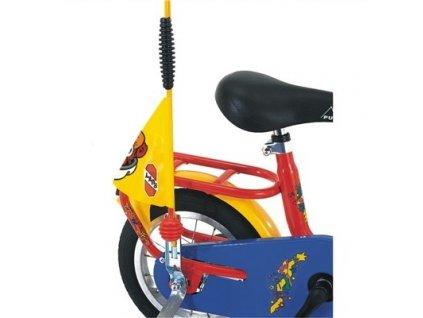 PUKY Bezpečnostná vlajka na kolobežky a bicykle žltá