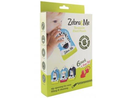 1 balenie ZebraMe kapsicky 6ks naustok