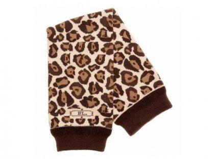 BABYLEGS návleky na nohy leopard