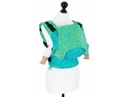 FID FU 029.A baby size fidella fusion baby carrier with buckles amors love arrows green 2 medium