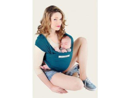 Baby šatka JPMBB Basic (Blue retro)