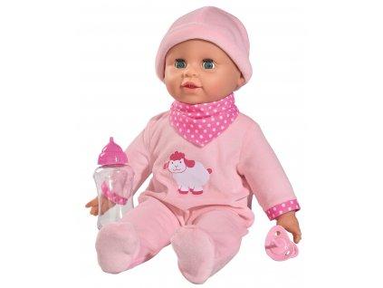 SIMBA laura bábika s fľaškou a zvukmi