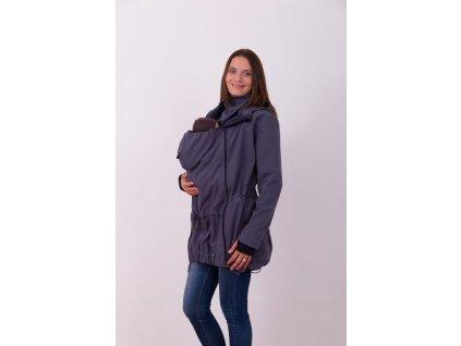 Jožánek nosiaca softshellová bunda PAVLA antracit M/L