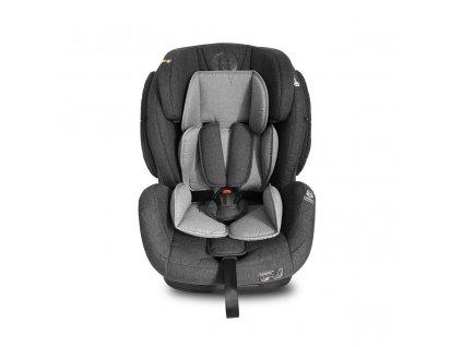 Petite&Mars Autosedačka Prime II Grey 9-36 kg