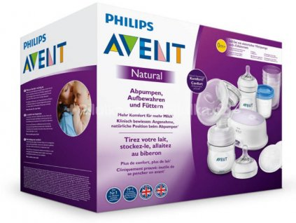 Avent Elektronická odsávačka Natural SCF332 so sadou na podporu dojčenia