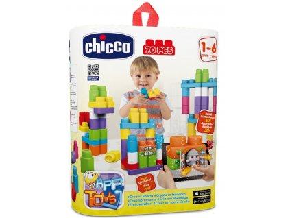 """CHICCO Stavebnica """"App Toys"""" 70ks - Extra vrecko"""