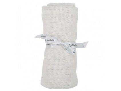 cuddleco letni deka bright white