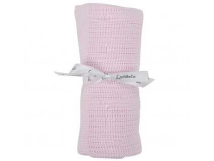 pink comfi hugs bamboo cellular blanket pdt 001