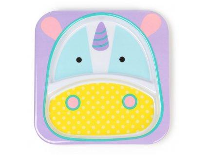 252169 z zootableware unicornplate s1(h)