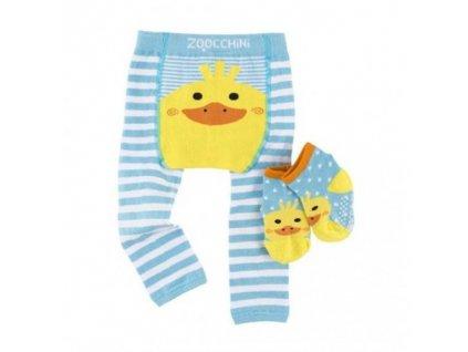 Zoocchini legínky a ponožky kačka Duck