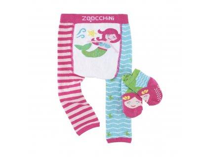 Zoocchini legínky a ponožky morská víla Marietta the Mermaid