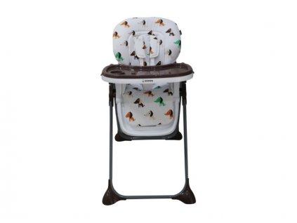 BOMIMI jedálenská stolička SELENA