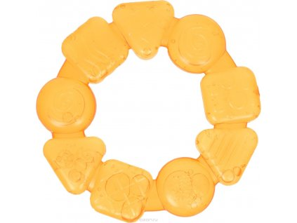 Bright starts hryzačka Teethe Around žltá 3m+