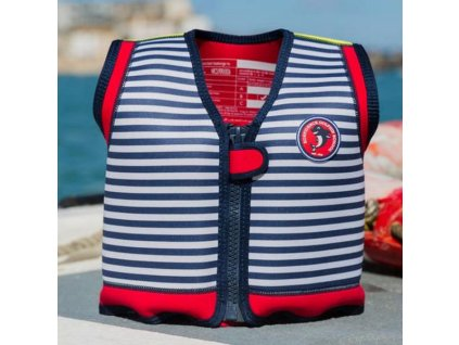 konfidence jacket hamptons blue stripe lalashop