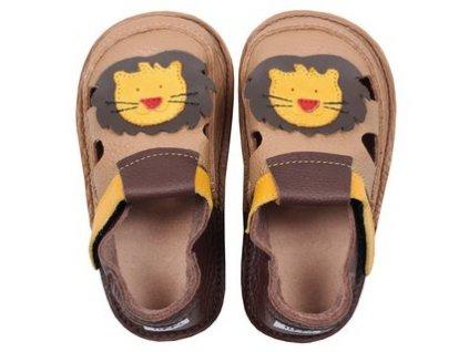 Tikki sandálky - Fearless lion