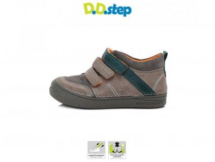 D.D.Step kožené topánky - Dark Grey