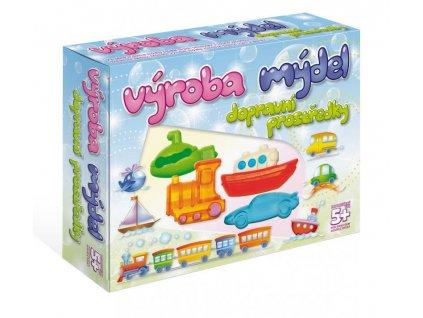 DetiArt výroba mydiel dopravné prostriedky