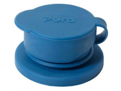 Pura silikonovy sportovy uzaver Modra