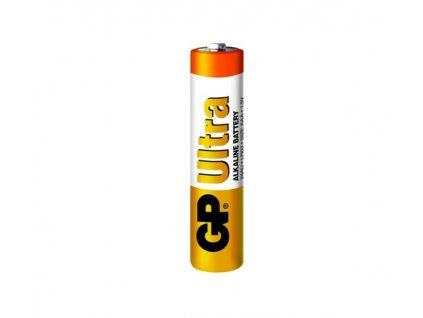 gp ultra alkaline baterie 24au lr03 aaa mikrotuzka 15v 1ks 218