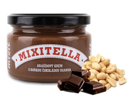 mixitella arasidova natierka s horkou cokoladou uganda