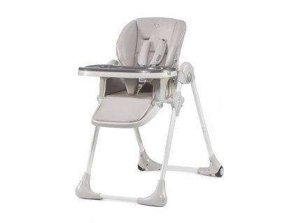 Kinderkraft Jedálenská stolička YUMMY grey