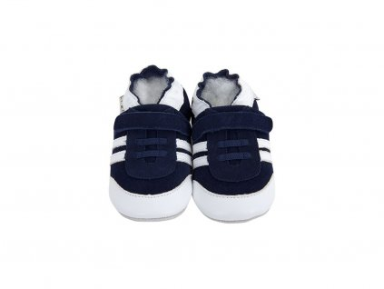 4239 1 chaussons cuir baskets marine front.png