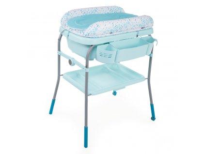 Prebaľovací stolík s vaničkou Cuddle & Bubble - Dusty Green