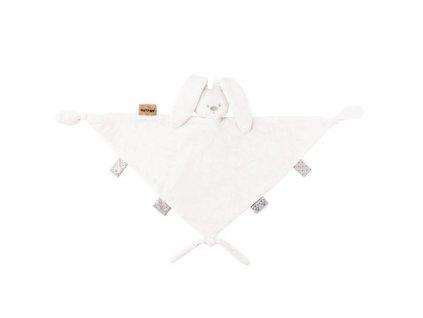Nattou Hračka maznáčik maxi Lapidou white 40cmx40cm 879163