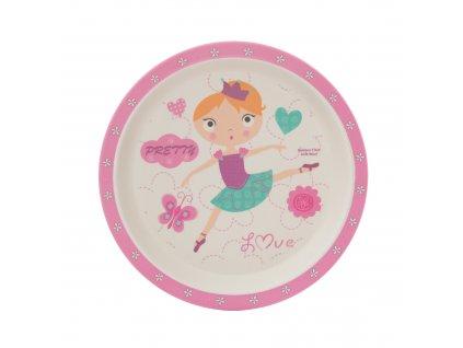 ZOPA Bambusový talířek ZOP055045/Dancing girl