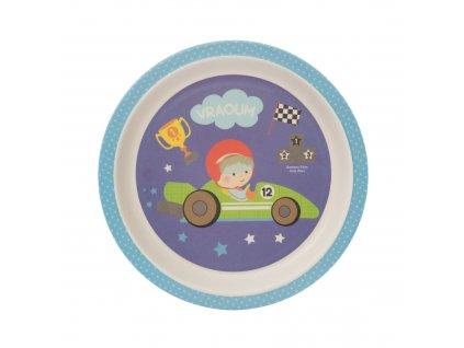 ZOPA Bambusový talířek ZOP055045/Little racer