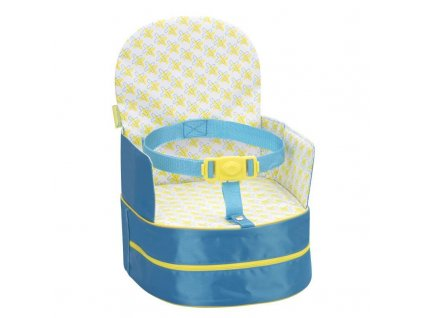 Badabulle prenosná stolička 2v1 One-the-Go Blue