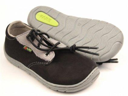 FARE BARE - detské celoročné topánky - čierne
