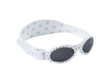 BabyBanz slnečné okuliare Silver Star