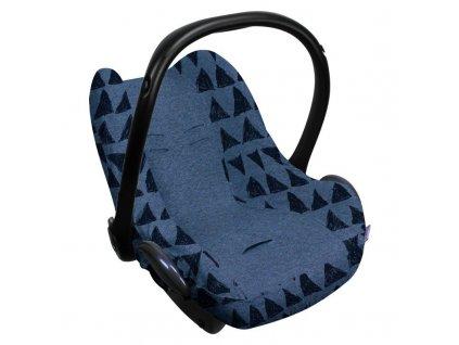 Dooky poťah na autosedačku Seat Cover 0+ Blue Tribal