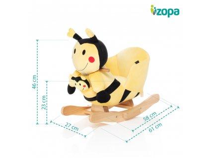 ZOPA Houpací včelka Betty+Baby TWINKIE ZOP032230/