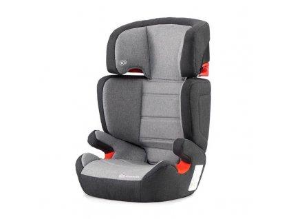 Kinderkraft Autosedačka Junior Fix Isofix Black/Gray 15-36kg