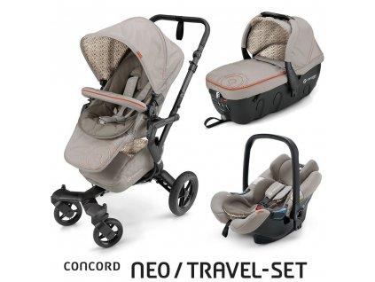 Concord Travel Set Neo Air+Sleeper Cool Beige Concord 2016 NASL0973