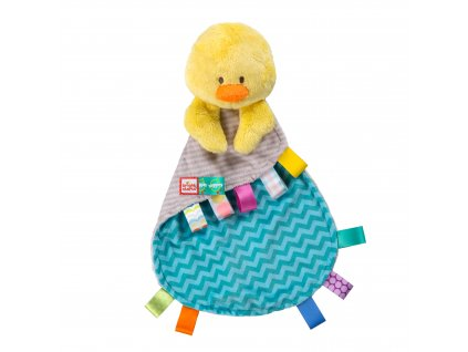 Bright Starts Hračka maznacia Tag&Snuggle kačička 0m+ 11141-6